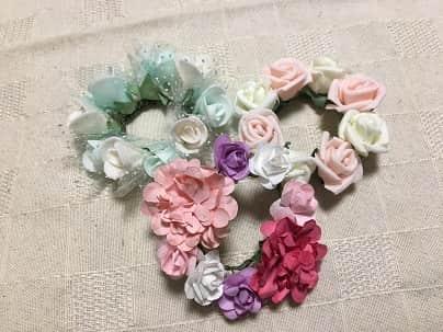 3種類の花冠